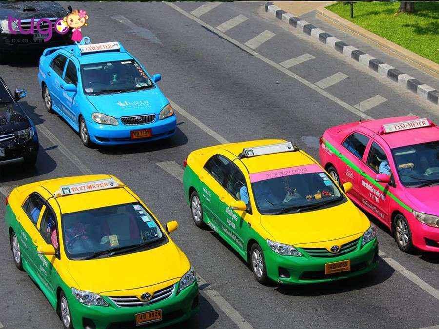 Tốt nhất là bạn nên đi taxi sử dụng đồng hồ tính km khi du lịch tại Thái Lan
