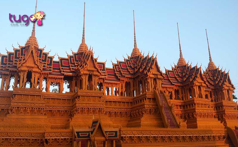 Những nét kiến trúc đầy độc đáo và đẹp mắt của nền văn hóa Thái Lan