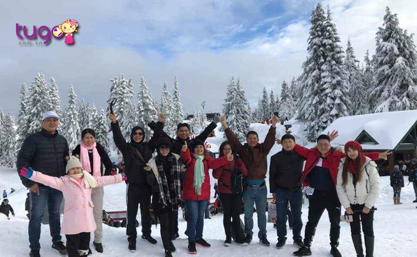 Nhiều du khách tin tưởng và lựa chọn tham gia các tour du lịch Canada cùng công ty Du lịch Tugo