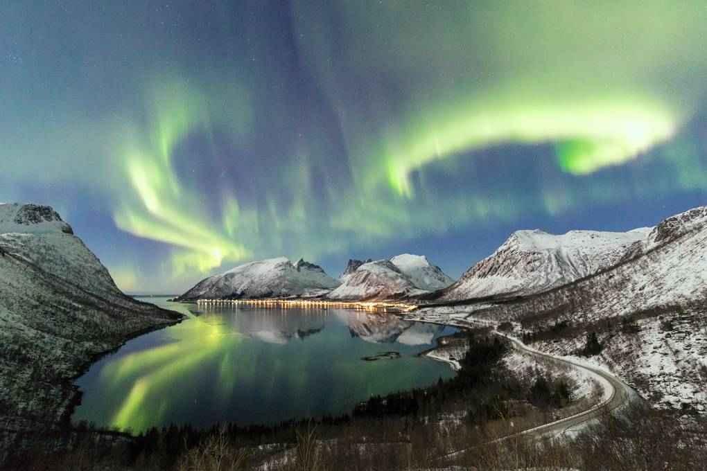 Kết quả hình ảnh cho hình ảnh bắc cực quang
