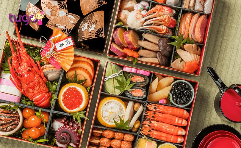 OSechi Ryori là món ăn truyền thống mang nhiều ý nghĩa đặc biệt trong những ngày Tết ở Nhật Bản