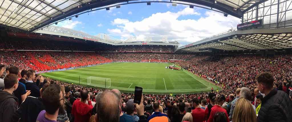 Kết quả hình ảnh cho Old Trafford Stadium của CLB Manchester United