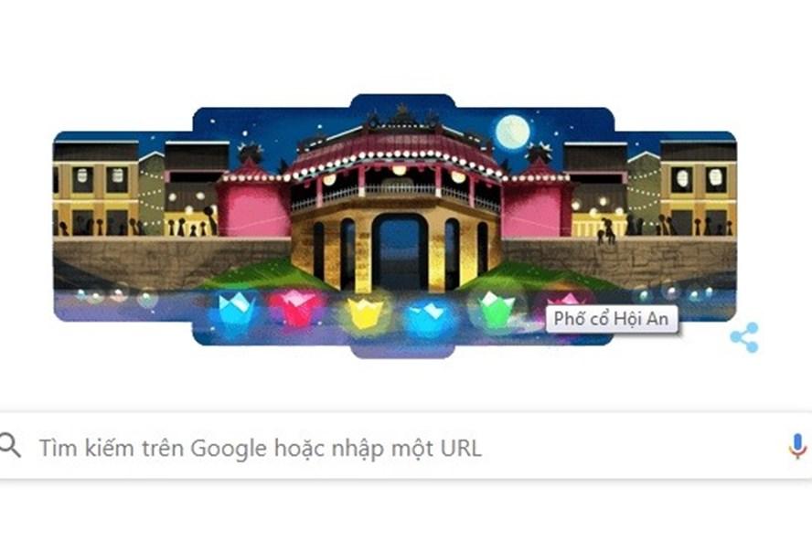 Phố cổ Hội An lần đầu xuất hiện trên Google Doodle
