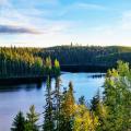 Phong cảnh thiên nhiên hấp dẫn tại các hồ nước ở Saskatchewan