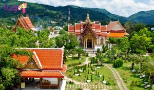 Chùa Wat Chalong được nhiều du khách ghé thăm