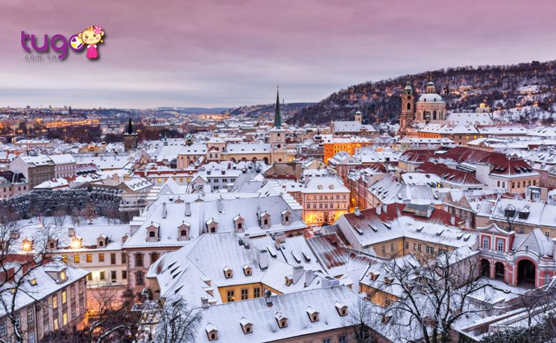 Prague nổi tiếng là một thành phố mùa đông với những khung cảnh đầy ấn tượng