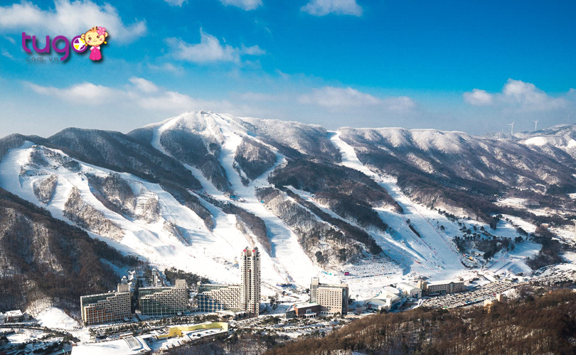 Pyeongchang - Thành phố mùa đông hấp dẫn hàng đầu ở đất nước Hàn Quốc