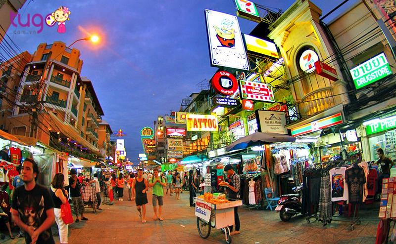 Thiên đường mua sắm hàng giảm giá tại Bangkok Thái Lan