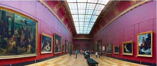 Những lưu ý khi tham quan bảo tàng Louvre của Pháp Hiện vật của các nước được sắp xếp theo từng khu vực của bảo tàng