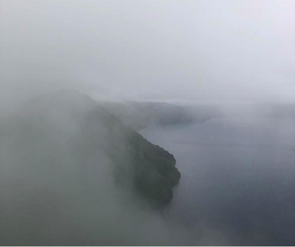 Hồ Mashu thường xuyên bị sương mù bao phủ trong mùa hè - Ảnh: Instagram/S&T