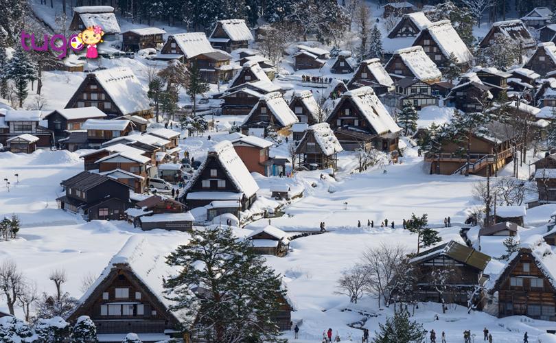 Shirakawa Go là một trong những ngôi làng cổ nổi tiếng bậc nhất ở Nhật Bản hiện nay