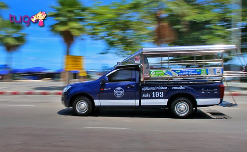 Songthaew là một phương tiện di chuyển độc đáo của người dân ở Pattaya