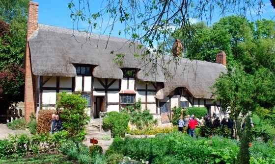 Kết quả hình ảnh cho Anne Hathaway's Cottage (trang trại Anne Hathaway)