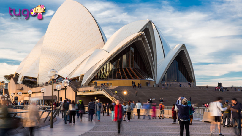 Sydney Opera House - Một biểu tượng nổi tiếng của thành phố Sydney