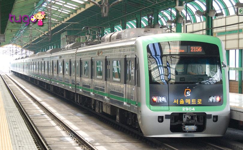 Tàu điện ở Hàn Quốc không chỉ hiện đại mà còn rất tiện lợi để di chuyển