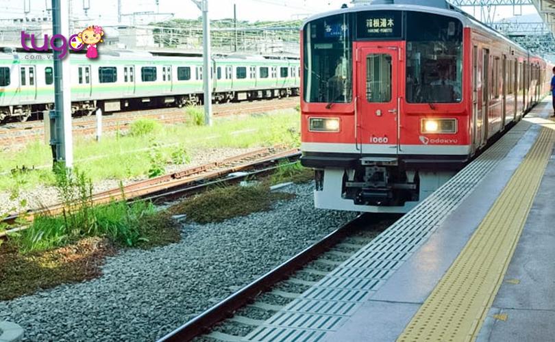 Tàu điện là một trong những phương tiện hiện đại và tiện lợi nhất ở Nhật Bản