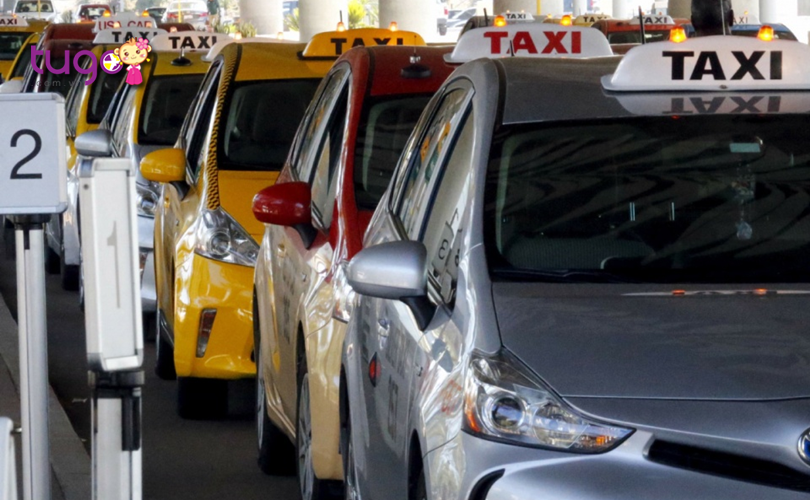 Taxi cũng là một phương tiện khá phổ biến mà bạn có thể lựa chọn khi du lịch ở Mỹ