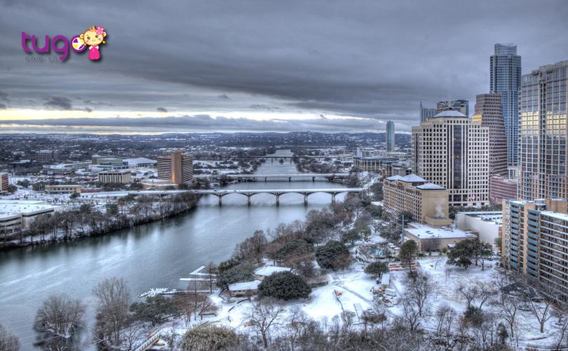 Thành phố Austin yên bình, thơ mộng giữa mùa đông
