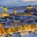 Thành phố Quebec là một điểm đến hấp dẫn mà du khách không nên bỏ lỡ khi du lịch Canada vào mùa đông