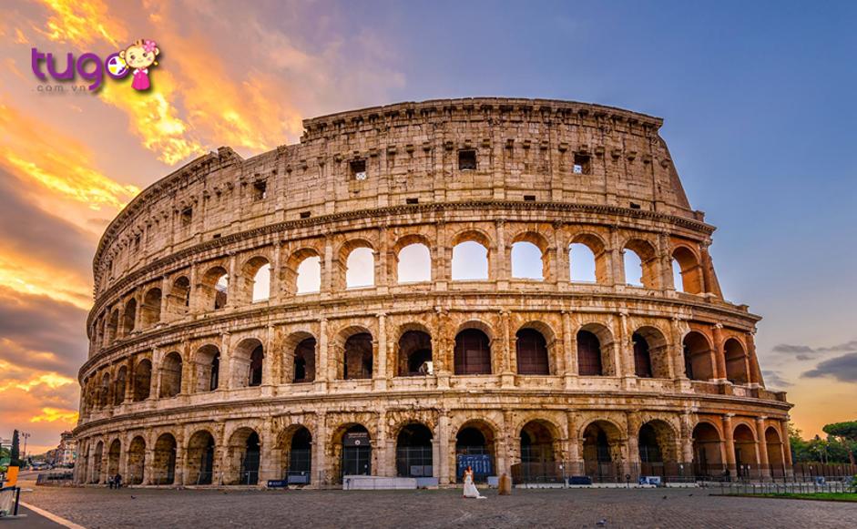 Thành phố Rome với những công trình kiến trúc nổi tiếng thế giới