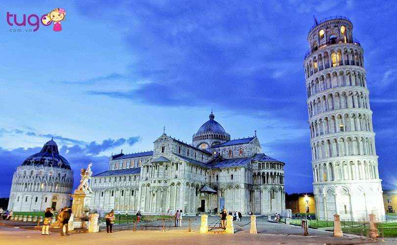 Tháp nghiêng Pisa - biểu tượng của nước Ý