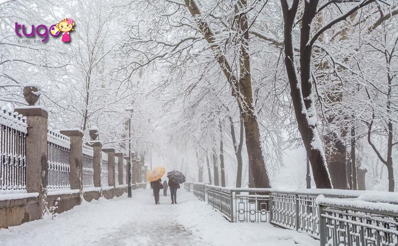 Thời tiết ở Châu Âu tháng 12 có thích hợp cho các hoạt động du lịch?