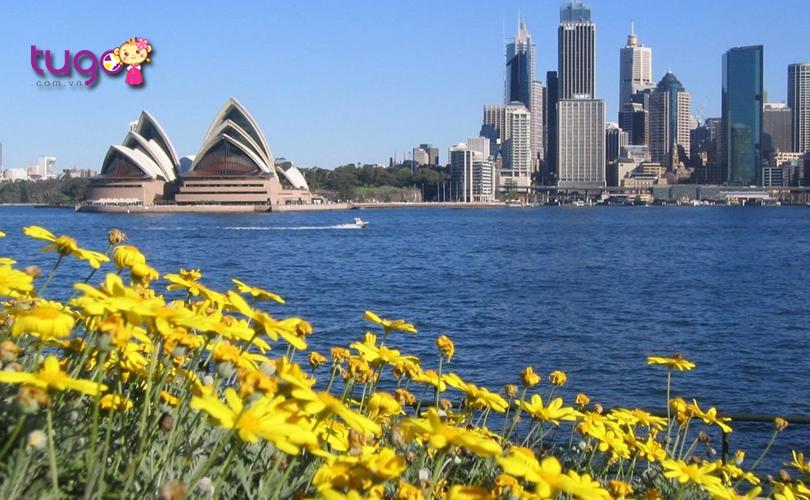 Thời tiết tháng 12 ở Úc khá thích hợp cho những hoạt động khám phá và du lịch
