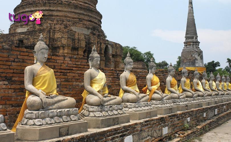 Bạn yêu thích những nơi có vẻ đẹp cổ kính? Thủ đô Ayutthaya cổ xưa là điểm đến tuyệt vời dành cho bạn