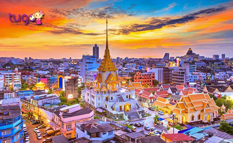 Thủ đô Bangkok - Trung tâm du lịch hấp dẫn hàng đầu tại xứ sở Chùa Vàng