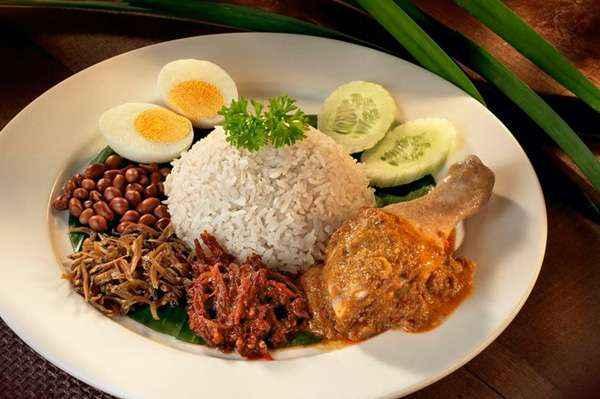 Top 10 dac san malaysia Nasi lemak