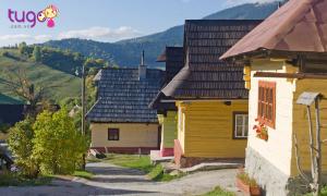 Ngôi làng Vlkolinec với những ngôi nhà màu sắc sẽ khiến bạn cảm thấy thích thú đấy