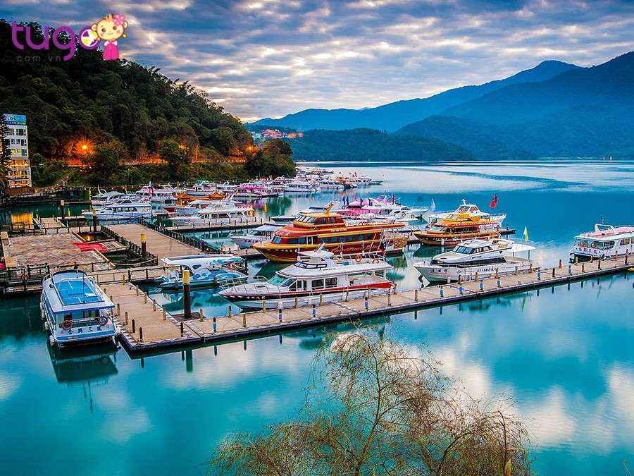 Hồ Nhật Nguyệt là chốn bồng lai tiên cảnh