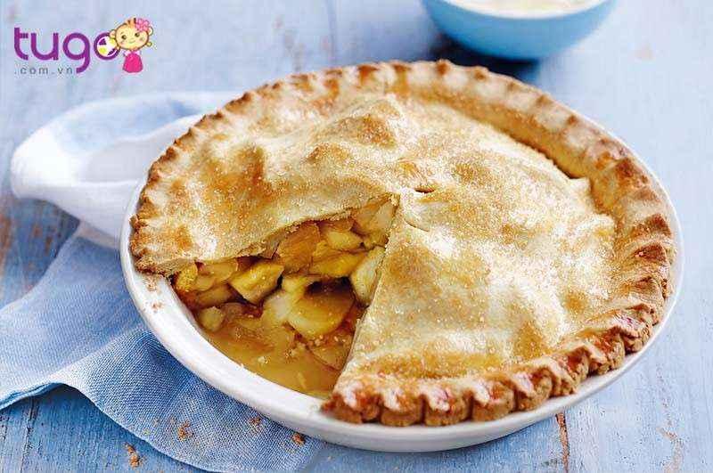 Bánh táo có vị ngọt thanh không ngậy, cùng vị thơm đậm đà khó cưỡng