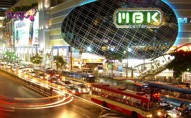 Trung tâm thương mại MBK là một địa điểm mua sắm nổi tiếng tại Thái Lan