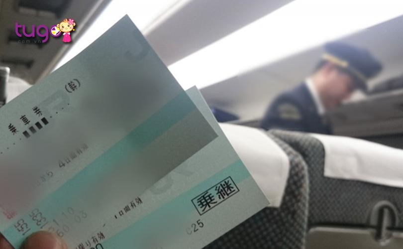 Vé tốc hành là loại vé cần thiết để đi các chuyến tàu nhanh như Shinkansen