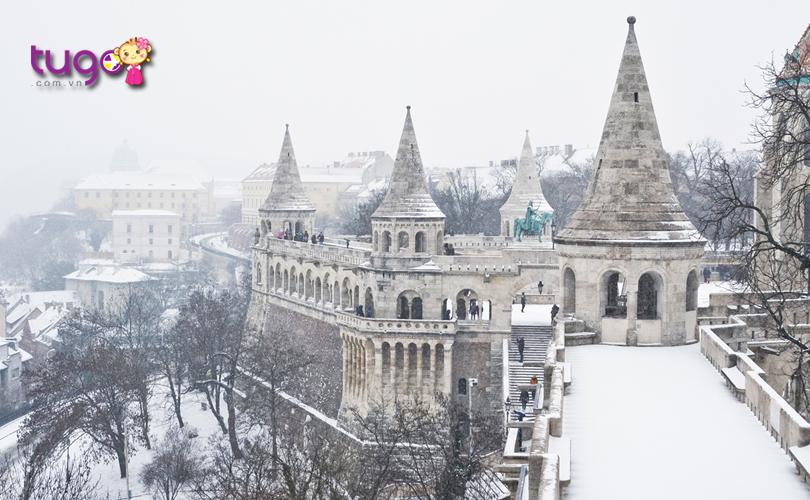 Vẻ đẹp thơ mộng của Budapest, Hungary vào mùa đông