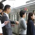Xếp hàng trước khi lên tàu là một văn hóa phổ biến ở Nhật