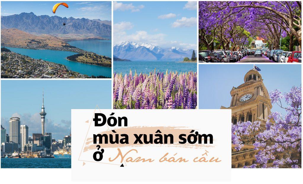TOUR ÚC 5N4D: MELBOURNE THÁNG 9-10-11 MÙA XUÂN