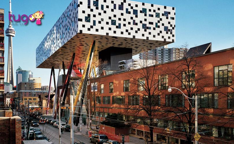 Ấn tượng với 8 Công trình kiến trúc độc đáo ở Toronto Canada