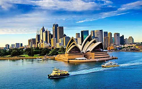 Trong khi Việt Nam đang mùa hè thì Australia đang là mùa đông với nhiều lễ hội đặc sắc. Ảnh: Tugo.
