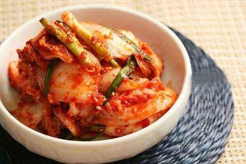 Kim chi là món ăn đặc trưng của Hàn Quốc