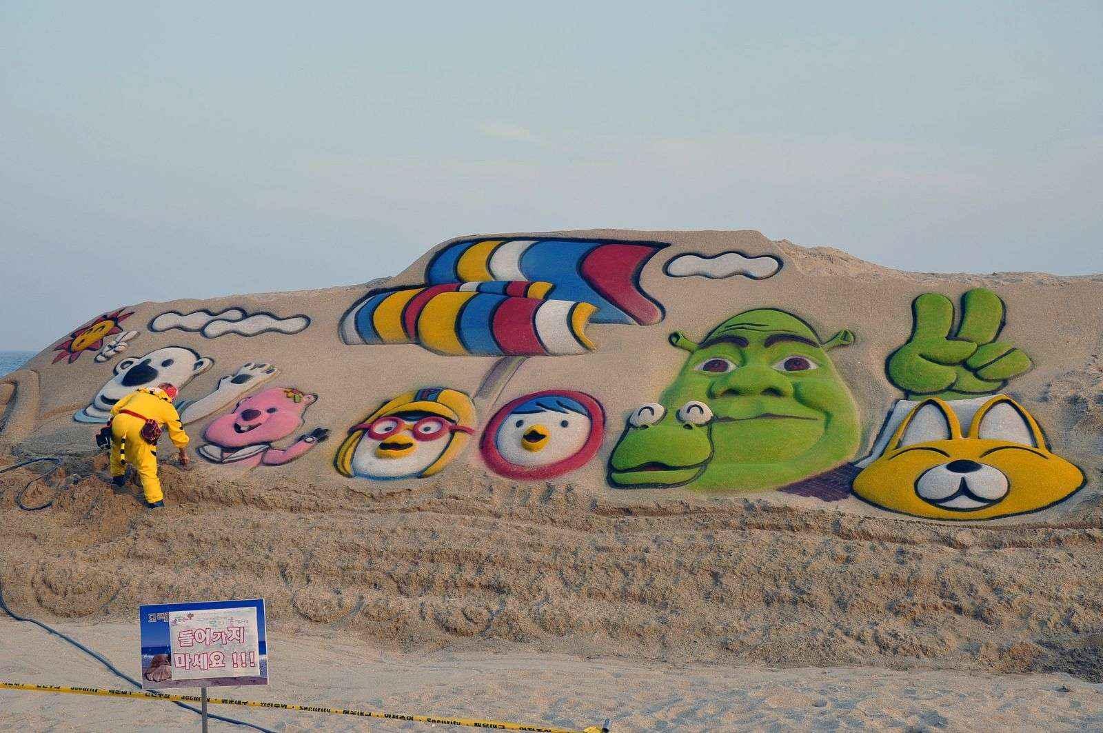 Lễ hội cát ở Busan