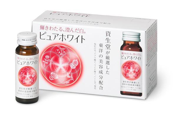 SHISEIDO - COLLAGEN PURE WHITE - Nước uống Collagen trắng da