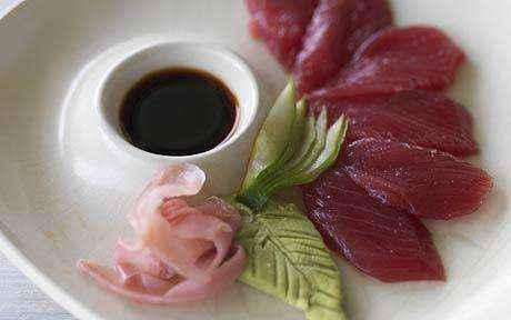 Người Nhật không bao giờ trộn wasabi với nước tương.