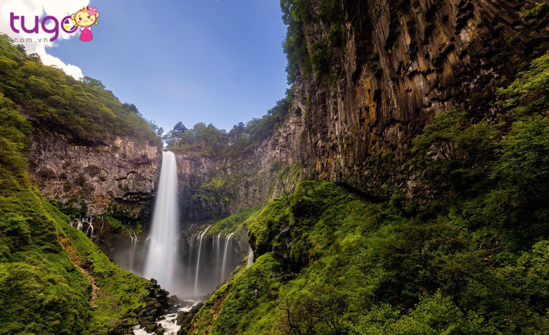 Thác Kegon là một trong 3 thác đẹp nhất Nhật Bản