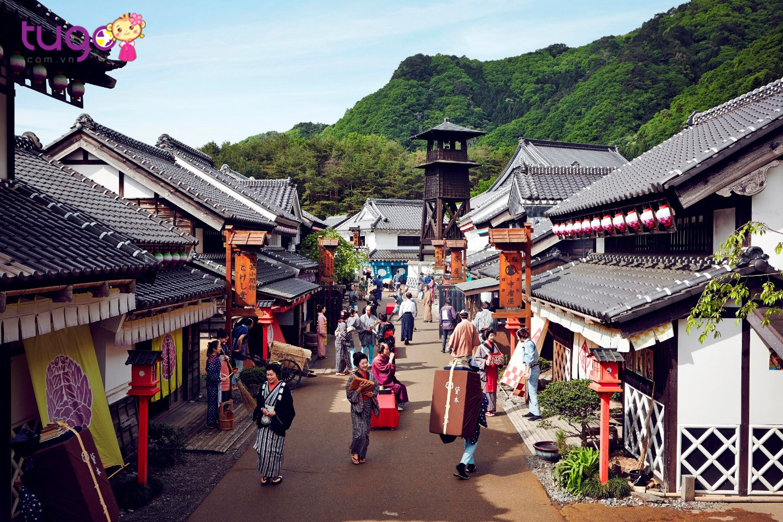 Công viên Edo Wonderland Nikko Edomura - nơi văn hoá và cuộc sống từ thời Edo được các nghệ sĩ tạo dựng và diễn lại
