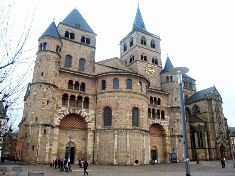 Kết quả hình ảnh cho Thánh đường Trier (Trier Cathedral)