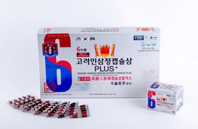 SÂM ĐÔNG TRÙNG HẠ THẢO - Heaven1 Korean Ginseng Extract Capsule Plus & Dong Chong Xia Cao