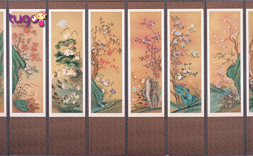 tranh-lua-han-quoc-mon-qua-sang-trong-duoc-nhieu-du-khach-lua-chon-khi-den-xu-so-kim-chi
