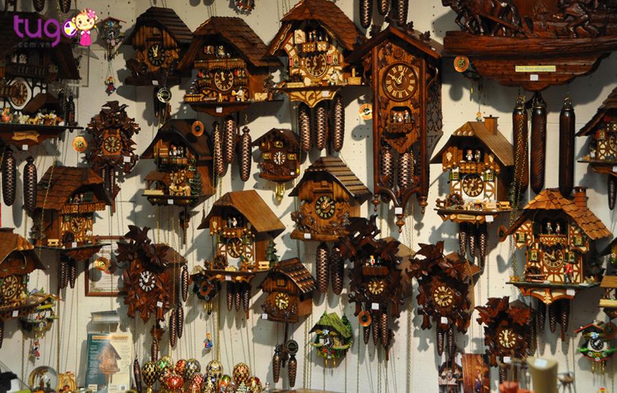 Từ A tới Z những món quà khi đi du lịch Đức